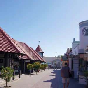 Centre-ville de Swakopmund