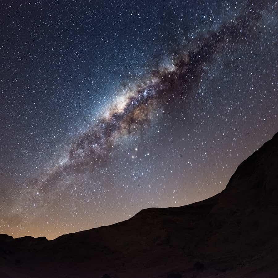 Babi-Babi hunting safari Namibia The Milky Way over the desert - EN