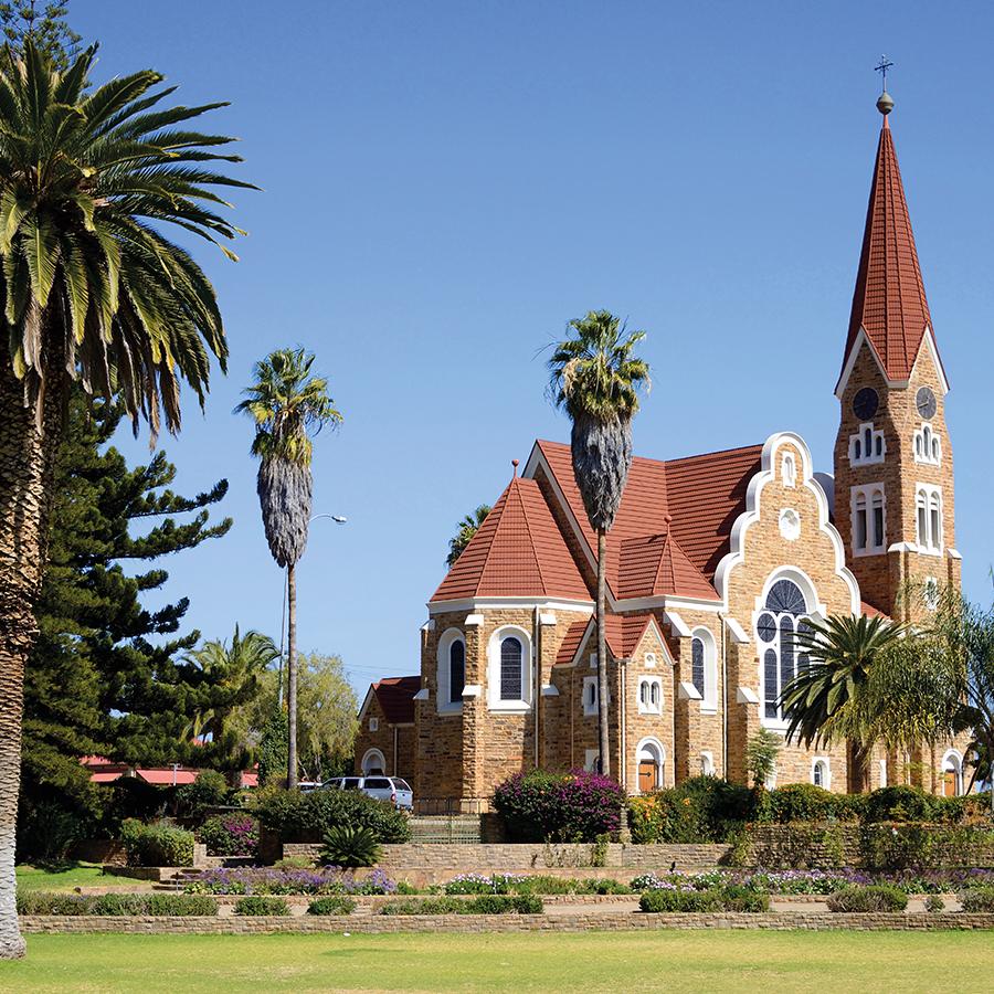 Babi-Babi hunting safari Namibia The Lutheran Church of Windhoek - EN